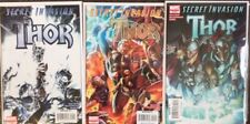 3 Thor Secret Invasion #1 2 3 Complete Set Fraction Braithwaite Marvel Comics NM