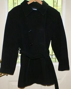 Herman Kay Women's Pea Coat Size Medium 100% Wool