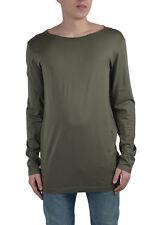 Dolce & Gabbana Men's Green Long Sleeve T-Shirt US M IT 50