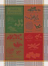 GARNIER THIEBAUT, PASTA ITALIANA FRENCH JACQUARD KITCHEN / TEA TOWEL(S), NEW
