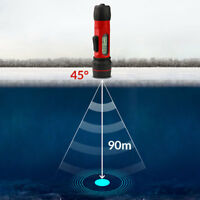 Portable Fish Finder Depth Sonar Fishfinders LCD Display Ice Canoe Fishing 90M