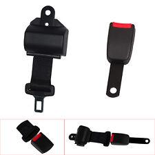 Noir 2 Point Universel Rétractable sécurité ceinture de sécurité réglable pour chariot élévateur voiture