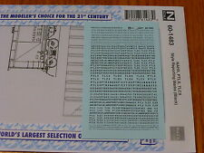 Microscale Decal N #60-1483 NAHX, PTLX, TLCX Style Reporting Marks (Decal Sheet)