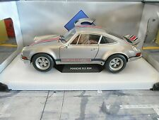 Porsche 911 carrera 2.8 rsr gris outlaw rothsport racing 1974 solido nuevo! 1:18