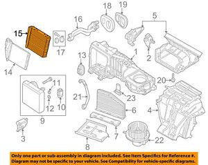 VW VOLKSWAGEN OEM 12-18 Passat-Hvac Heater Core 561819031C