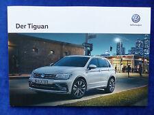 VW Tiguan R-Line 4Motion - Prospekt Brochure 02.2017