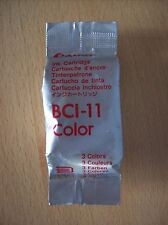 Ink Cartridge Genuine Canon BCI-11 Colour Ink Cartridge Bubblejet New Sealed