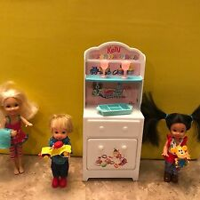 Mattel Barbie Tommy Kelly Dolls w/accessories