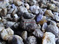 Natural TANZANITE Gemstone Rough Crystals - 2000 CARAT Lots - Gems from Tanzania
