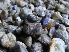 Natural TANZANITE Gemstone Rough Crystals - 2000 CARAT Lots - Gems from Tanzania