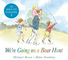 Were Going on a Bear Hunt Childrens Book Kids Story Tale Gift Picture Board