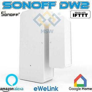 SONOFF DW2 allarme Sensore wireless per porte / finestre Wi-Fi sull'APP eWeLink
