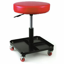 MECHANICS WORKSHOP GARAGE CREEPER PNEUMATIC SEAT STOOL WITH TOOL STORAGE