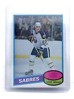 1980-1981 Lindy Ruff #319 Buffalo Sabres OPC O-Pee-Chee Ice Hockey Card H600