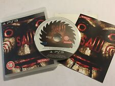 PS3 PLAYSTATION 3 GAME SAW I / 1 1st +BOX +INSTRUCTIONS COMPLETE PAL DISC VGC