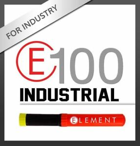 ELEMENT E100 INDUSTRIAL NONTOXIC NONCORROSIVE FIRE EXTINGUISHER - BRAND NEW
