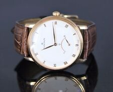 $16,100 Blancpain Villeret Men's 18k Rose Gold 40mm Ultra Slim Retrograde Watch
