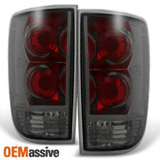 1995-2004 Chevy Blazer S10 GMC Jimmy Envoy Smoke Taillights Replacement Pair Set