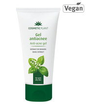 Cosmetic Plant Anti-Acne Gel with Basil Extract for oily, acne-prone skin 100 ml