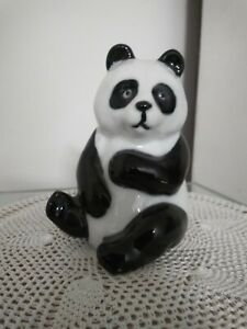 Panda Ceramic Figurine Otagiri
