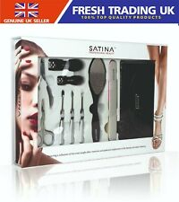 Satina Professional Beauty Nail Cutter/Clipper Manicure/Pedicure Kit - Gift Set