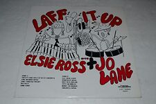 Laff It Up With Elsie Ross & Jo Lane~Chaton Recordings CLR-511~FAST SHIPPING