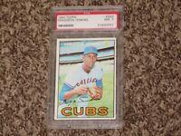 Ferguson Jenkins 1967 Topps PSA 7 # 333 Hall of Fame Chicago Cubs Fergie HOF