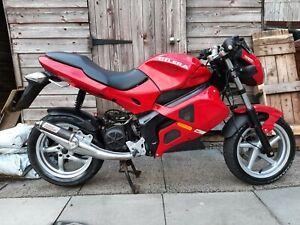 Gilera dna 50 Moped motorcycle 51 reg