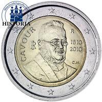 Italien 2 Euro Gedenkmünze 2010 bfr. Camillo Benso Graf von Cavour