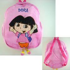 Dora the Explorer Boots School Bag Pink Plush Shoulders Bag Backpack Bag + GIFT