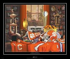"""Clemson Tigers """"Clemson Traditions"""" Championship Edition print by Greg Gamble"""
