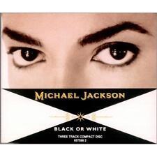 Michael Jackson - Black Or White - CD Single