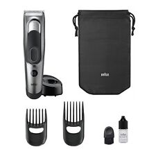 Braun Hair Trimmer HC 5090 / Hair Clipper / Fully Washable/100-240V/2 Combs