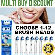 Braun Oral-B Electric Toothbrush PRECISION CLEAN Replacement Toothbrush Heads
