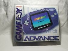 Indigo Game boy Advance System Handheld System Gameboy Box Nintendo