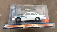 POLICE CAR Code 3 Die-Cast Collectible with PATCH -  BUFFALO NY NIB!