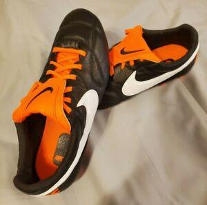 Nike Premier II FG Soccer Cleats Mens 8.5 Black Kangaroo Leather 917803-018