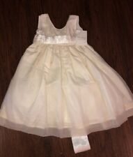 Strasburg 100% Silk Holiday Easter Party/ Flower Girl/ Portrait Dress 3t Nwt