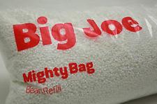 Bean Bag filler 100 Liter Refill Chair Seat Filling Lounge Filler with BIG JOE
