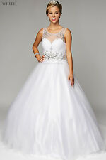 CINDERELLA SWEET 16 BALL GOWNS SPECIAL OCCASION QUINCEANERA BRIDE WEDDING DRESS