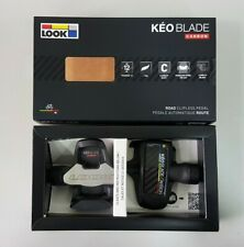 Look Keo Blade Carbon 12+16Nm Cycling Bicycle Road Clipless Pedal Black