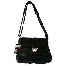 Damen Handtasche Schwarz Patchwork aus der Alessandro Salvatore Collection - NEU