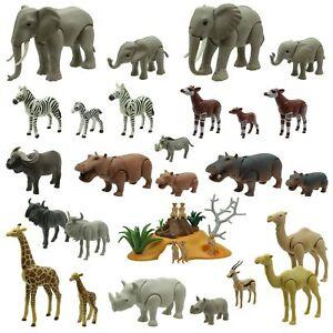 Playmobil Tiere Tier Afrika Wildnis Savanne Safari Zirkus Zoo