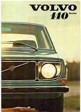 Volvo 140 Series 1970-71 UK Market Brochure 142 144 145 De Luxe Grand Luxe