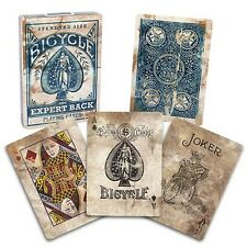 Bicycle Expert Back Blue Poker Playing Cards