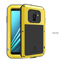 LOVE MEI Aluminum Metal Case for Samsung Galaxy A6 /A6+ A6 Plus Cover Full Shell