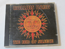 Rollins Band The End of Silence CD 1992 The Imago Records Low Self Opinion Grip