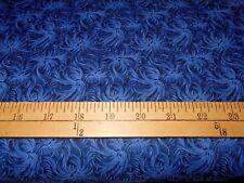 2 yards Daydream Navy Blender Fabric