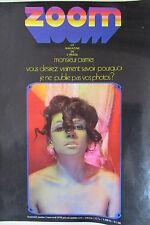 PHOTOS REVUE ZOOM No 2 de 1970 BOURGEOIS GACHET CRAMER CARON CHARMES EROTISMES
