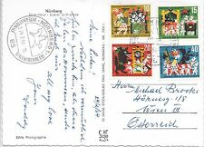 GERMANY P.P.C.  24/2/1964; NURNBERG - VIENNA; INTERNATIONAL TOY FAIR CANCEL.